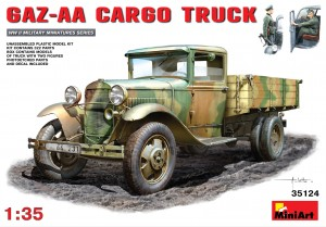GAZ-AA model truck kit