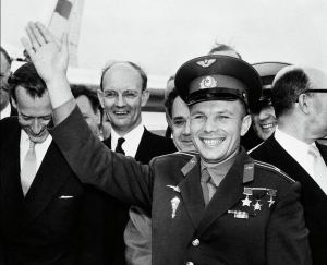 Yuri Gagarin London Airport 1961